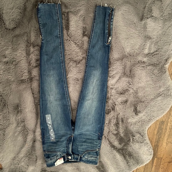 Express Jeans - Ankle Zip